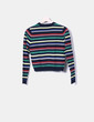 Jersey rayas multicolores Pull&Bear
