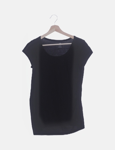 Camiseta negra premamá