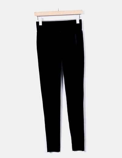 Legging negro terciopelo Primark