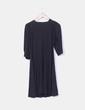 Vestido negro detalle brillos Zara