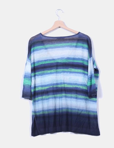 Tricot oversize rayas a colores
