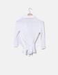 Chemise blanche rayée NoName