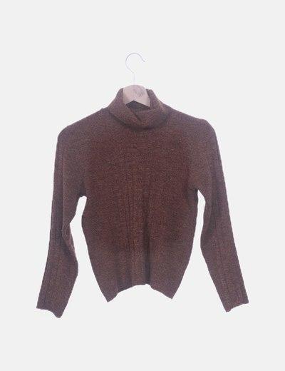 Jersey tricot marrón