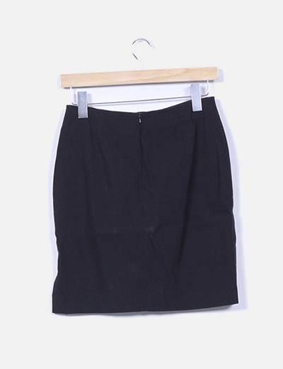 Falda elastica negra
