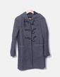 Trenca gris oscuro con capucha Zara