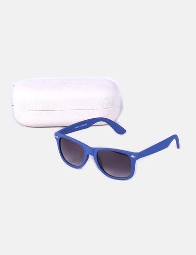 2ba4944aa2 Mango Gafas de sol pasta azul texturizada (descuento 73 %) - Micolet