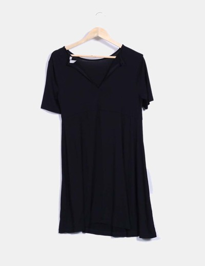 Vestido mini negro basico