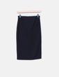 Falda midi negra Made in Italy