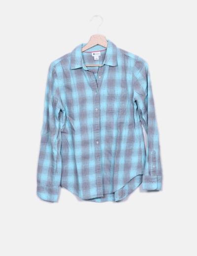 Camisa de cuadros bicolor NoName