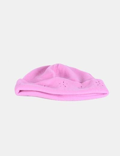 Gorro rosa troquelado NoName