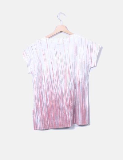 Camiseta cruda rayas