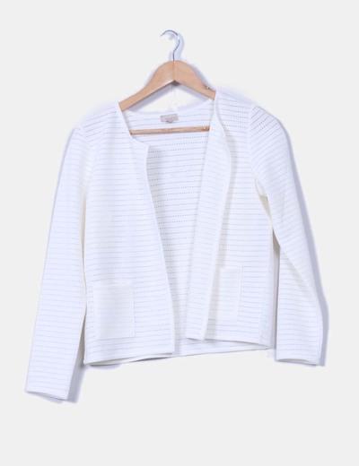 Cardigans blancs texturé Trucco