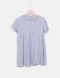 Camiseta fluida gris Asos