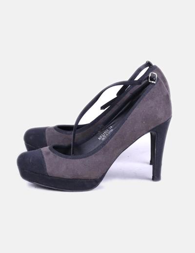 comprar online 2ef9e 2bca2 Zapato de pulsera bicolor