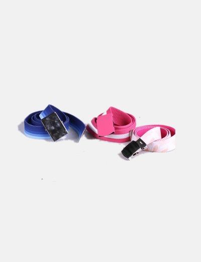Conjunto cinturones