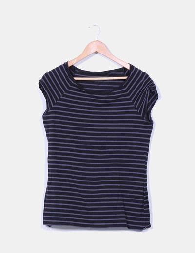 Camiseta de rayas bicolor NoName
