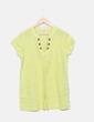Blusa amarilla con tachas Sfera