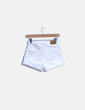 Shorts denim blanco Zara