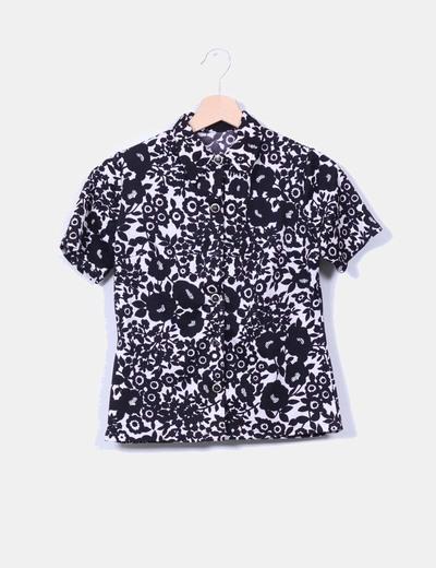 Camisa floral manga corta NoName