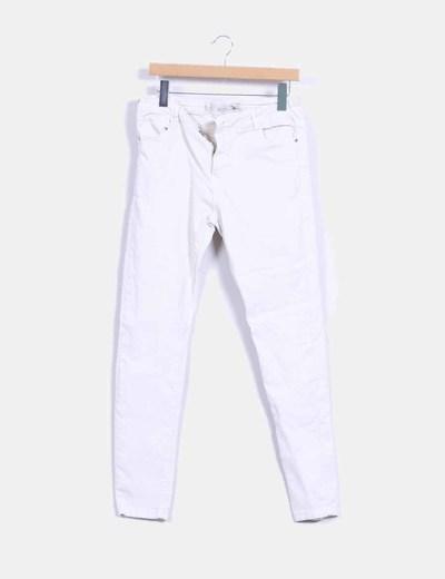 Jeans beige skinny fit  Bershka