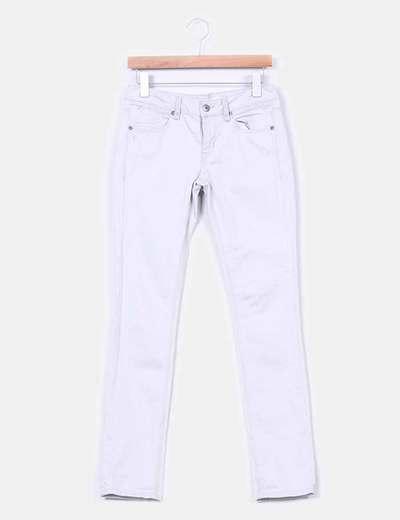 Jeans gris clair Topshop