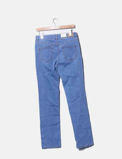 8f27df304c Cortefiel Jeans denim celeste regular fit (descuento 65%) - Micolet