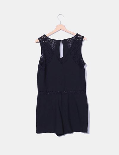 Mono negro crochet
