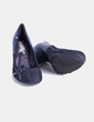 Zapato azul combinado   Drastik