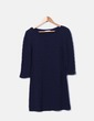 Vestido tricot azul marino Fórmula Joven