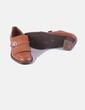 Zapato marrón de tacón Vitelo