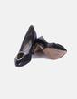 Zapatos heels negros broche Connie