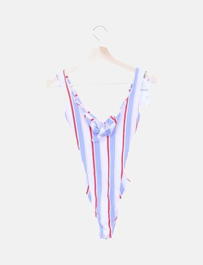 Body de rayas multicolor