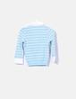 Polo tricot azul Pull&Bear