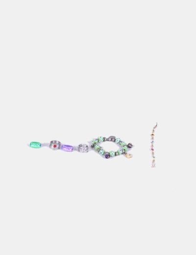 Conjunto de pulseras y anillos a color NoName