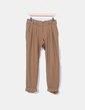 Pantalon en laine de camel Topshop