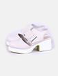 Zapatos beige con plataforma Shellys