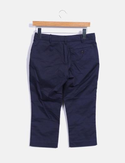 Pantalon pirata azul marino