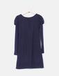 Vestido azul marino de punto Loona Paris