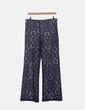 Pantalón de encaje azul marino The Pooze