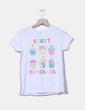Camiseta blanca estampada NoName