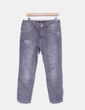Jeans denim baggy fit gris Zara