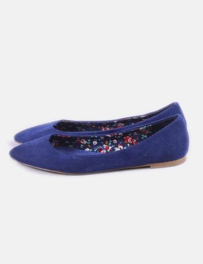 Bailarina azul pana pico