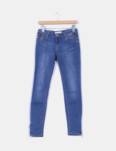 Jeans denim pitillo Lefties