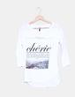 Camiseta blanca Stradivarius
