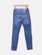 Jeans mid rise skinny ripped Zara
