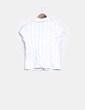 Camisa blanca con raya diplomática NoName