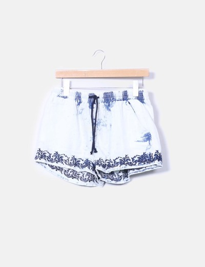 Shorts fluido denim Denim Co.