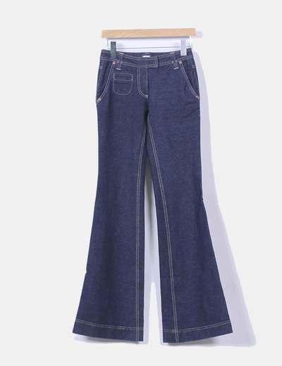 Jeans denim campana Diane Von Fürstenberg