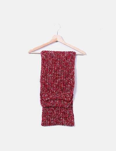 Écharpe tricotée El Corte Inglés