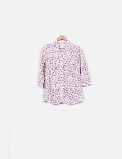 Camisa floreada estampada Country Romantic